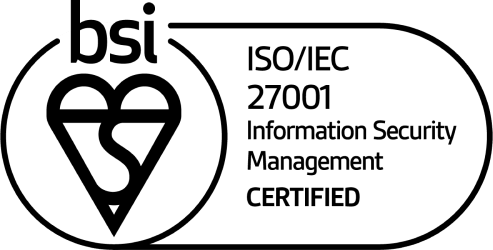 The British Standards Institution badge certifying SkillsForge for ISO/IEC 27001 Information Security Management